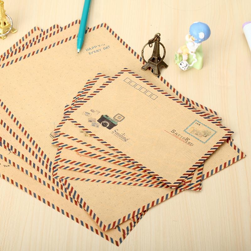 Online Shop 6 Letter Pad + 6 envelopes=1set ,sheet writing ...