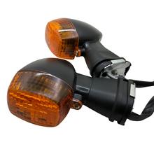 1 para motocykl migacze przednie światło kierunkowskazu dla kawasaki ZZR 600 ZRX 400 1200 1200R ZXR KLE 250 400 Ninja 500R tanie tanio Yecnecty Światło migacza n0444