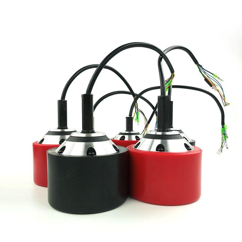 1 unid 70mm 83mm 90mm monopatín eléctrico Motor de cubo con negro o rojo PU cubierta para conducir o Dual eléctrica longboard - 2