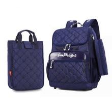 3pcs children school bags for boys kids bag boy orthopedic backpack schoolbag blue bookbag red pen bag school backpack for girls