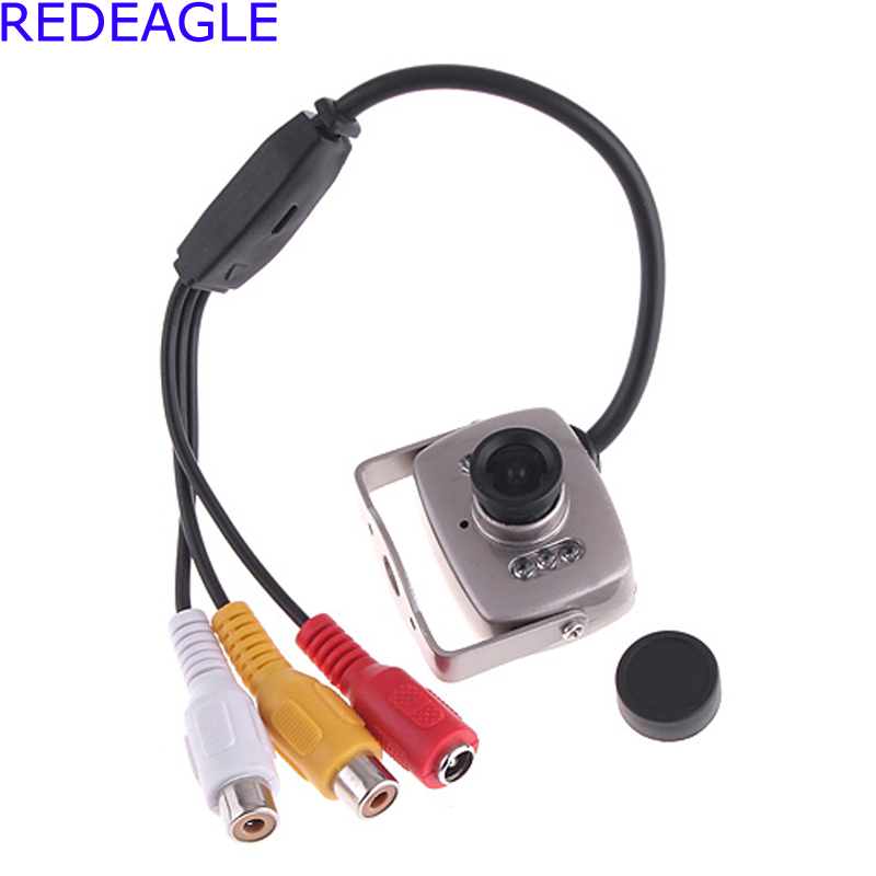 REDEAGLE Mini Super 600TVL CMOS Color CCTV Security Camera 940nm Night Vision Infrared Video Cameras