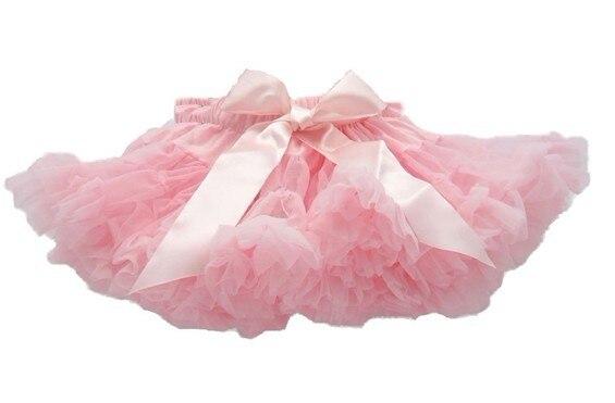Фиолетовые Пышные юбки-американки для девочек юбка-пачка юбка для девочек юбка для танцев пышная и Мягкая юбка-американка для девочек - Цвет: pink