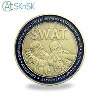 Оптовая продажа хорошее качество Армии монеты для подарка античной святой Георгий покровителя Броня монеты США SWAT вызов монеты сувенирные