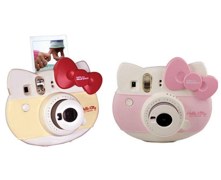 Fujifilm Instax mini HELLO KITTY мгновенная камера fuji 40 юбилей пленка фотобумага камера один раз выстрел мини 8 Kamera