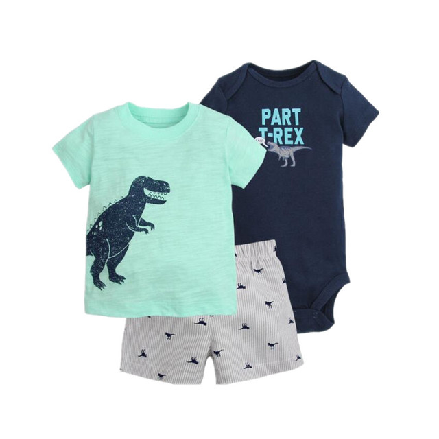 b9c233f7697 New summer 2018 baby boy clothing set kids boy clothes sets Sports costume T  shirt +