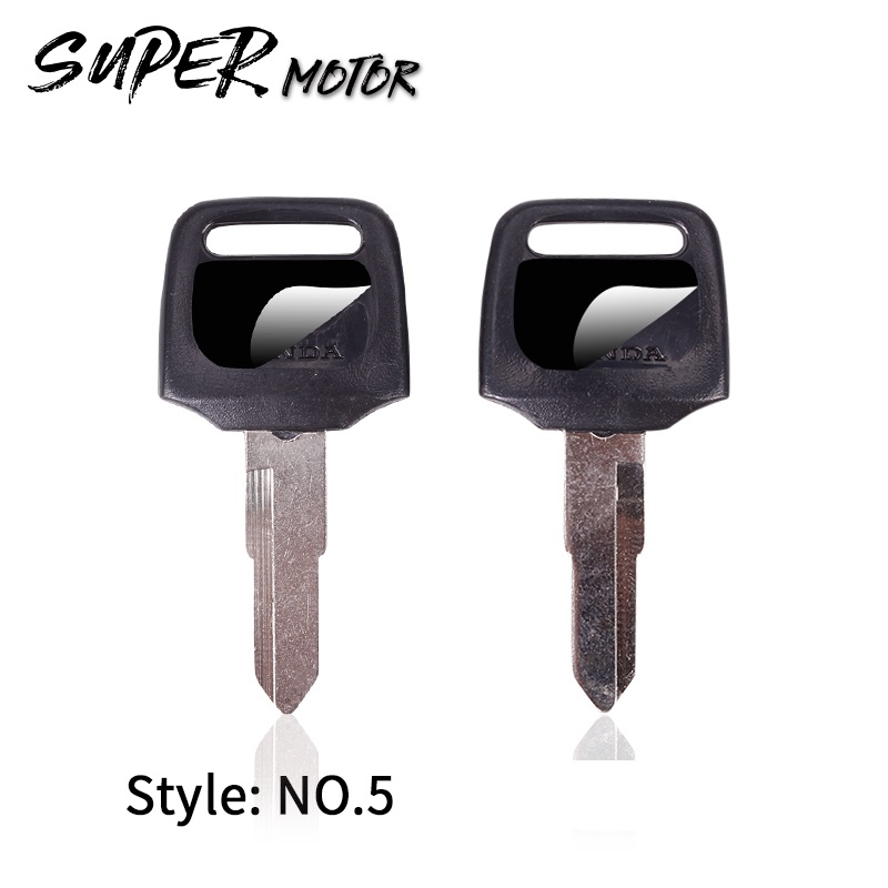 Brand New Motorcycle Replacement Key Uncut For HONDA scooter 50CC Motorcycle keys DIO Z4 125 <font><b>SCR100</b></font> WH110 image