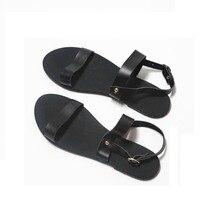 parmaklı sandaletleri Ücretsiz Mujer