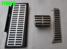 Auto gas accelerator pedal, brake and footrest pedal for Audi Q3 ,AT and MT, free shipping