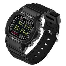 Original brand luxury women men fashion color led display sports waterproof wristwatches couple ladies gift dress led watches