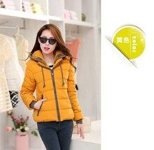 2016 New Fashion Women Winter Down jacket  Big yards Thickening Super Warm Coats Hooded Jacket Splicing Slim Women Coat G1558