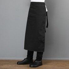 Canvas Adjustable Pocket Apron Unisex Kitchen Cooking Diet Work Uniform Restaurant Hotel Cafe Bakery Barber Shop Work Pinafore adjustable strap pocket patched pinafore dress