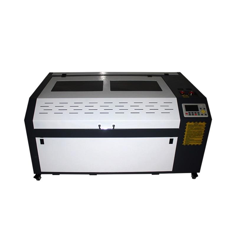 1060 PRO Mit DSP System Auto fokus Stempel 100w Laser Holz Stecher Maschine