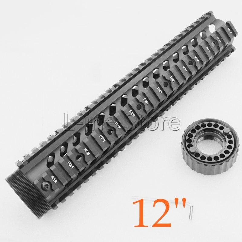 Système de garde-corps tactique de 12 pouces pour fusil M4 M16