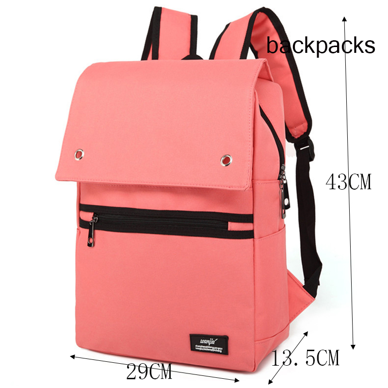 79b9440c11a US $21.07 52% OFF|women's backpacks adult Female men and student for school  girls backpack quality laptop backpack space Solid color lovely cute-in ...