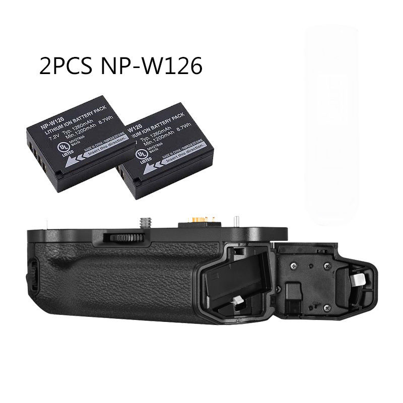 MEIKE MK-XT1 Battery Grip for Fujifilm X-T1 as VG-XT1 +2Pcs NP-W126 meike mk xt1 battery grip for fujifilm x t1 as vg xt1