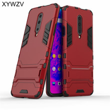 For Oneplus 7 Pro Case Armor Soft Silicone Rubber Hard PC Phone Cover 1+7 Fundas