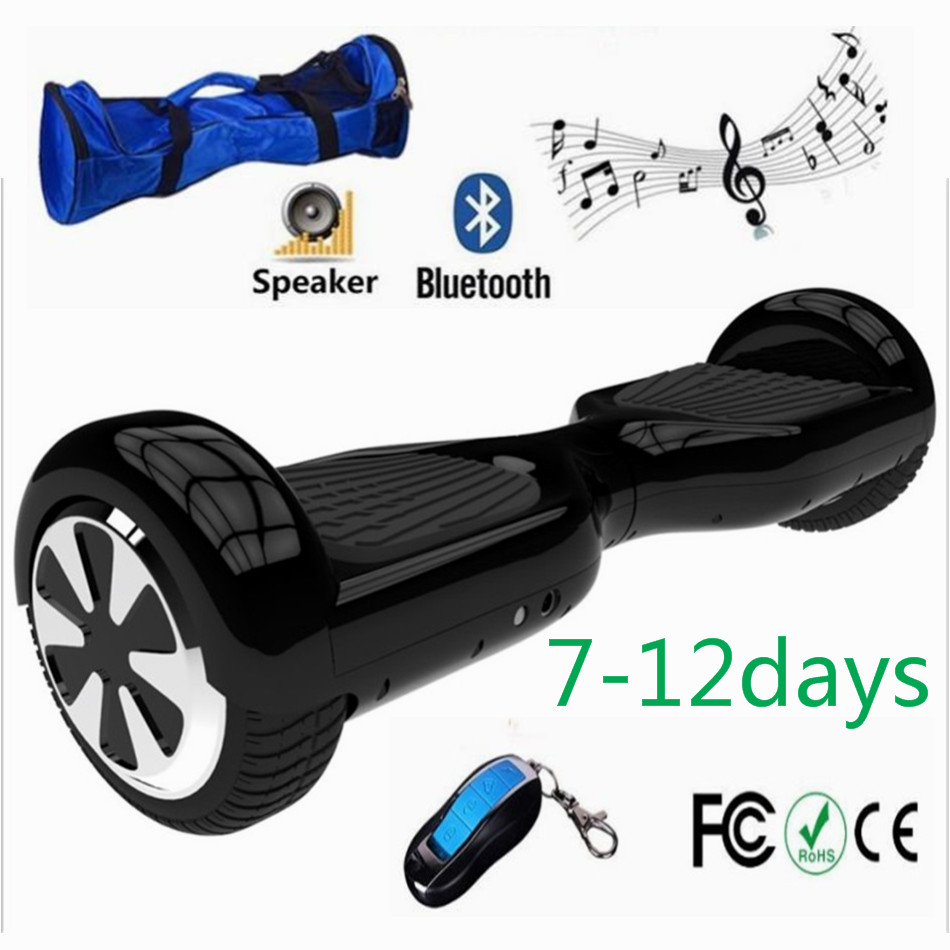 Samsung Battery 6 5 inch bluetooth bag remote font b Hoverboard b font Oxboard Electric Steering