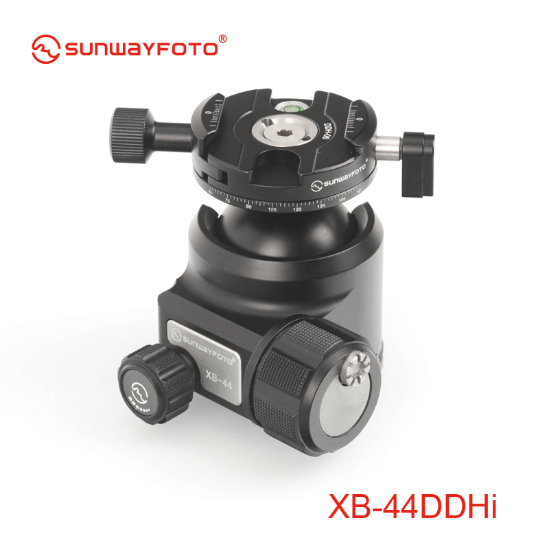 SUNWAYFOTO XB 44DDHI Low Profile font b Tripod b font Head for DSLR font b Camera