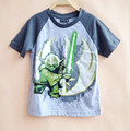 2 colors boys short sleeve T shirt summer tee shirts grey for boy children clothing 4 5 6 7 years old