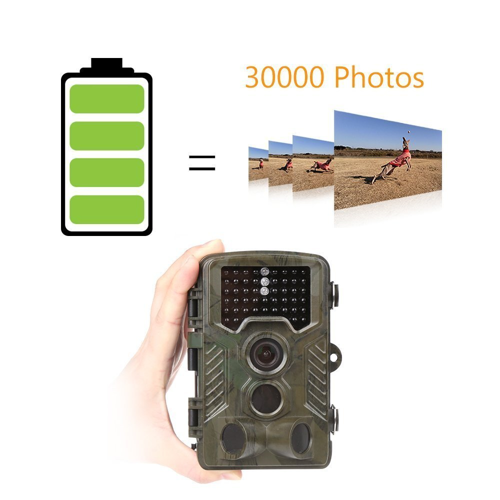 Deer Photo Trap Digital hunting trail camera H881 Scout wildlife chasse night vision Black IR LED 940NM Wild cameras for hunting hunting camera 940nm 12mp photo traps infrared night vision motion detection outdoor wildlife trail cameras trap no lcd screen