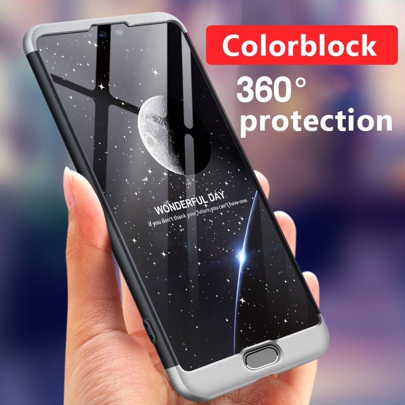 separation shoes 1f118 b55f6 US $8.81 10% OFF|For HUAWEI P20 Pro 360 Degree Full Protection Hard Case  For HUAWEI P20 Back Cover shockproof case +Tempered glass-in Phone Bumper  ...