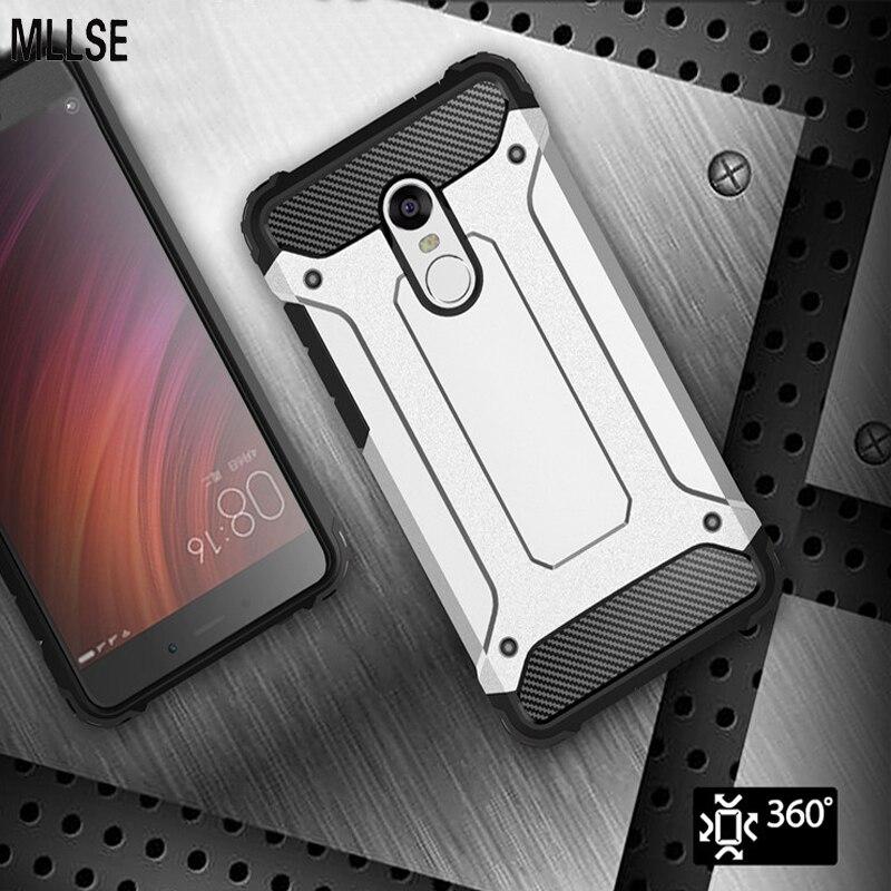 MLLSE Hybrid Tough Shockproof Armor <font><b>Phone</b></font> Back <font><b>Case</b></font> for Xiaomi Mi6 Mi5S Plus Mi5C Note 2 Redmi Note 3 4X 4A 3S Hard Rugged Cover
