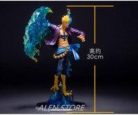 Anime figures One Piece PVC Action Figure P.O.P POP DX MAS Marco Boxed Collection Model ToyThe Phoenix Battle Ver