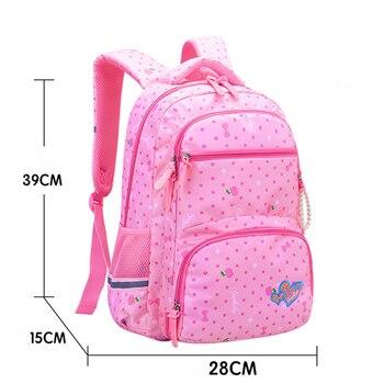 2020 New Orthopedics Schoolbags Waterproof School Backpack For Kids Children 4