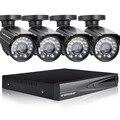 DEFEWAY 1080N HDMI DVR 1200TVL 720 P HD Sistema de Câmera de Segurança Em Casa Ao Ar Livre 4CH DVR AHD CCTV Kit De Vigilância Por Vídeo seguridad