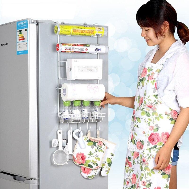 Refrigerador rack 4 unids ventosa gancho estante multifunción - Organización y almacenamiento en la casa - foto 2