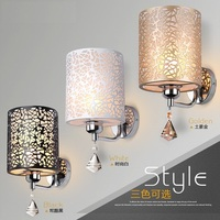 Simple Creative Acryl Crystal Wall Sconce Modern LED Wall Light Fixtures For Bedroom Wall Lamp Indoor Lighting Lampara