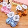 Unisex do bebê dos miúdos estereoscópicas-nascidos Animal dos desenhos animados Shoes sapatos de algodão botas botas 0 - 10 M