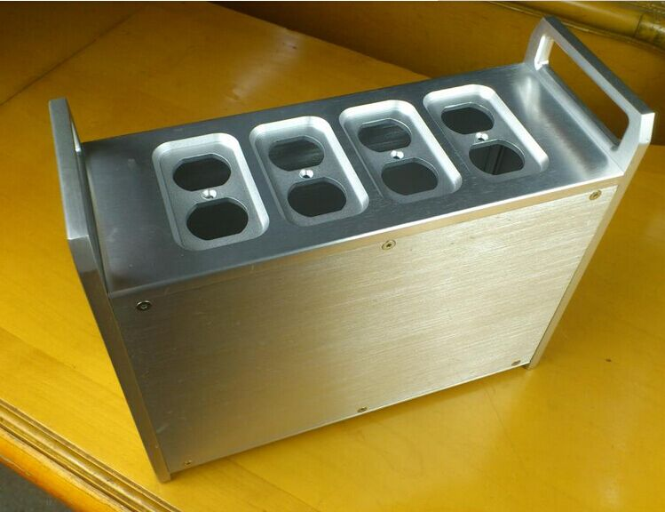 QUEENWAY Audio SL3011 CNC Full aluminum Chassis silver amplifier case 320mm*120mm*265mm 320*120*265mm queenway audio 2215 cnc full aluminum amplifier case amp chassis box 221 5mm150mm 311mm 221 5 150 311mm