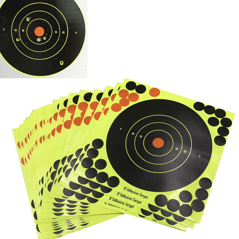 Ultimate Gun Shooting Solution 10/25/50/100 Sheets Targets 8