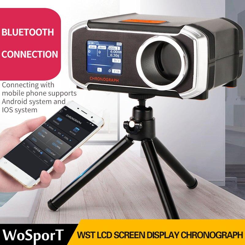 WoSporT tir chronographe testeur de vitesse Paintball Airsoft Air Gun BB testeur de vitesse Support APP ISO pour la chasse CS bataille