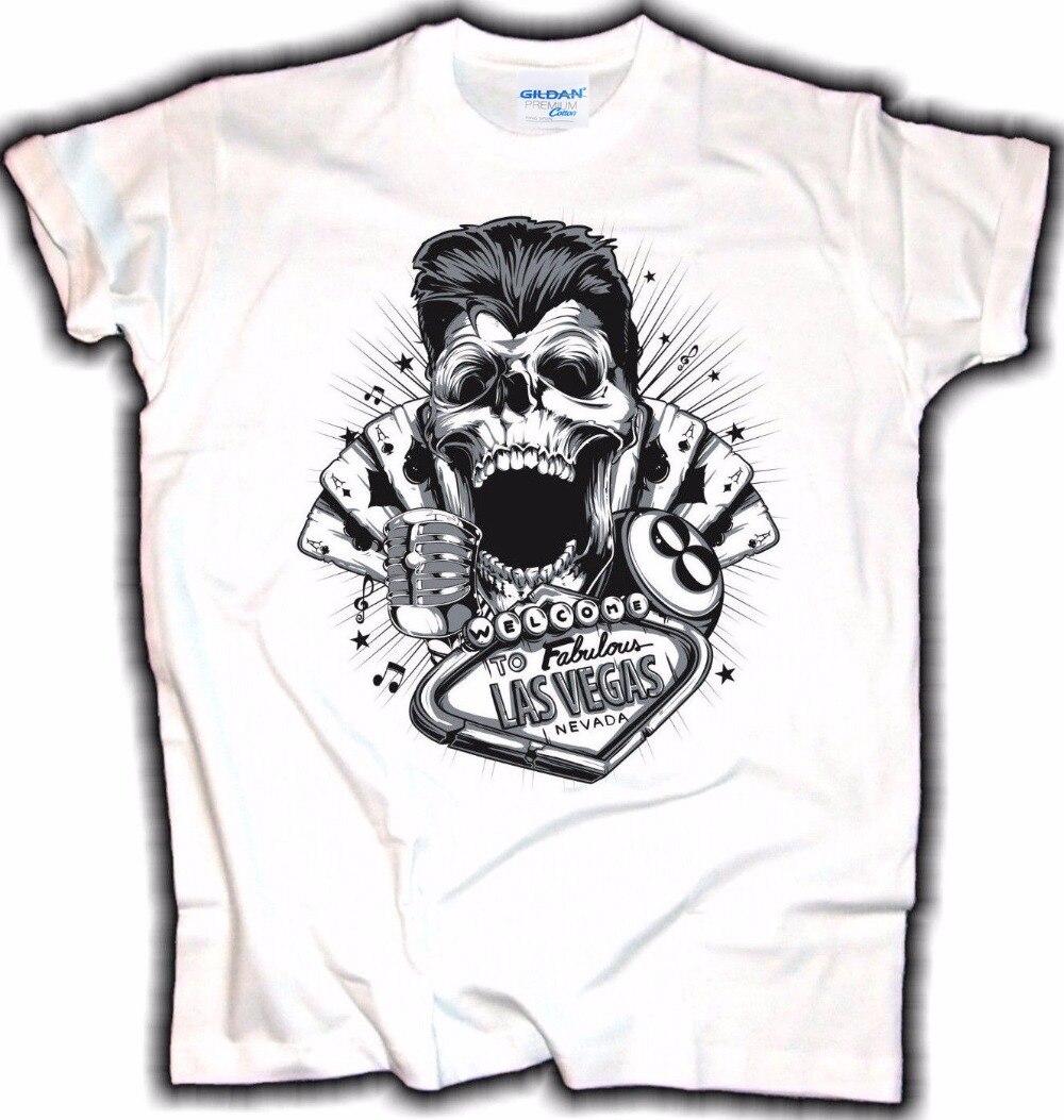 Gt86 design t shirts men s t shirt - 2017 Newest Men S Funny Design T Shirt Biker Skull Greaser Chopper Old School V8 Race Rockabilly Hot Rod Printing Casual T Shirt