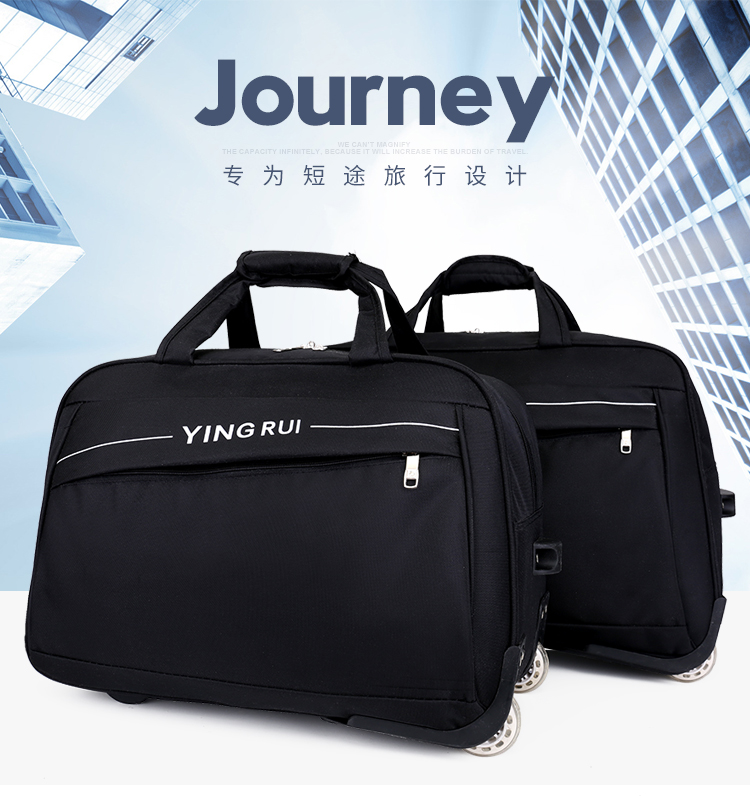 Portable Luggage Duffel Bag Whale and Polar Bear Travel Bags Carry-on in Trolley Handle JTRVW Luggage Bags for Travel