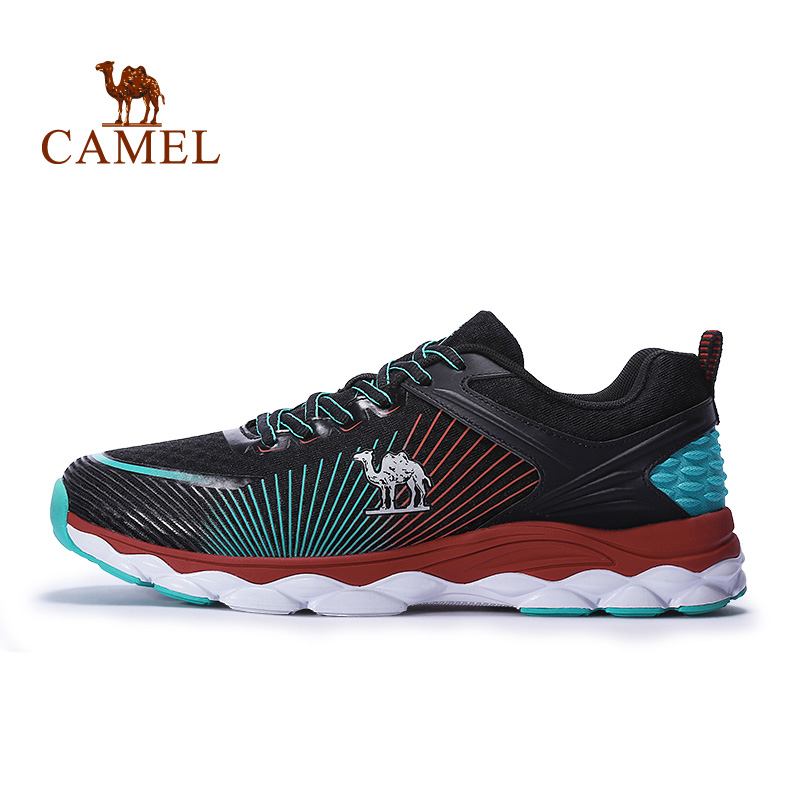 CAMEL Multi Colors Running Shoes For Men Breathable Wear-resistant Lightweight Jogging Walking Outdoor Sports Sneakers
