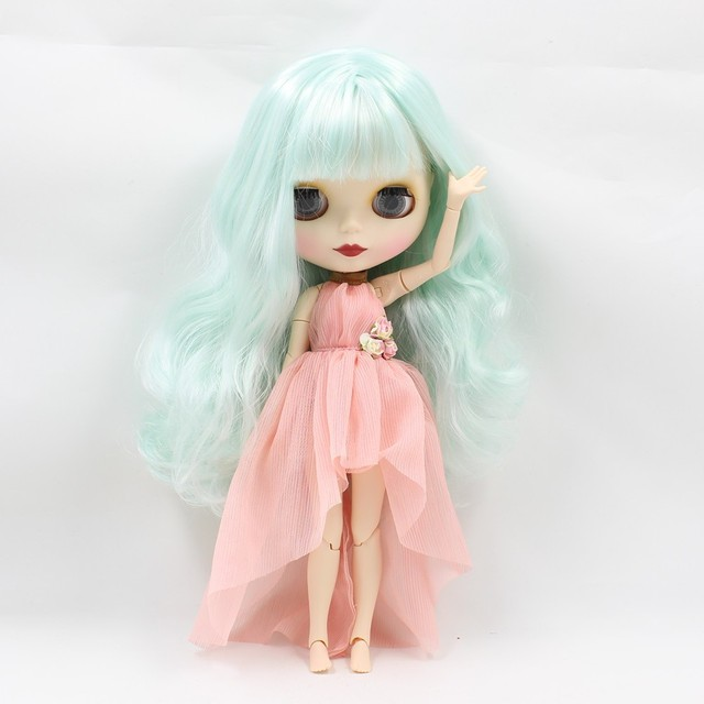 Neo Blythe Doll Clothes Pink Dress