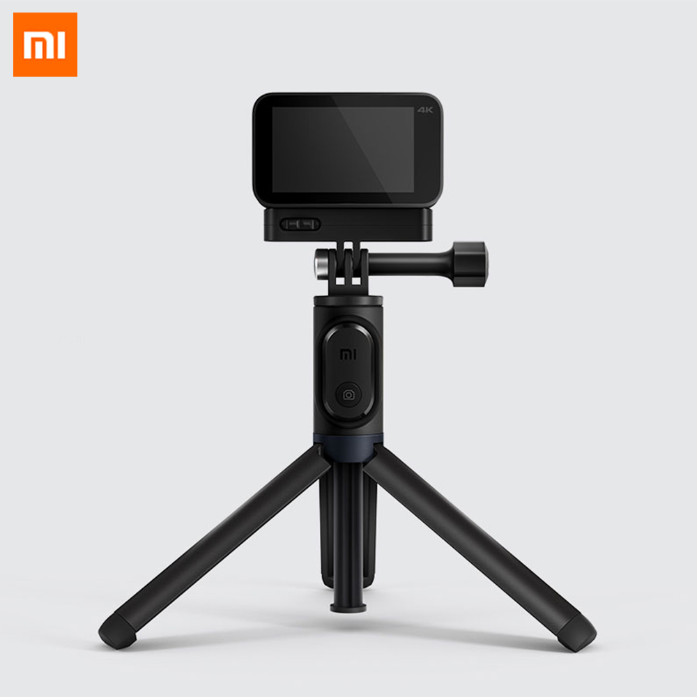 Original Xiaomi Mijia Small Camera Selfie Stick Tripod Bluetooth 3.0 Remote Control 360 Rotation Lightweight Foldable Compact