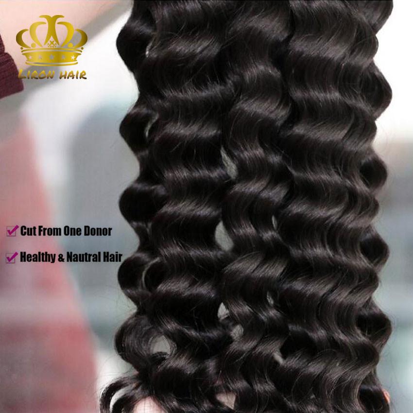 Brazilian Loose Deep Human Hair 3 Bundles Lot Brazilian Loose Deep Wave Virgin Hair Weaves Grade 8A Stema Hair Product More Wavy (8)