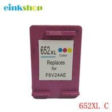For HP 652 Color Ink Cartridge for HP Deskjet 1115 1118 2135 2136 2138 3635 3636 3835 4535 4536 4538 4675 4676 4678 2pcs xiongcai compatible ink cartridge for hp 652 deskjet 1115 2135 2136 2138 3635 3636 4536 4535 printer cartridge for hp652