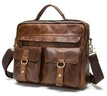 CHISPAULO Marke 100% Aus Echtem Leder Tasche Männer iPad Tabelt Rindsleder umhängetasche männer Handtaschen für geschenk Hohe Qualität LT01