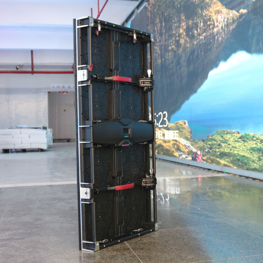 Indoor 3.91mm 500x1000mm Cabinet Led Stage Screen Display Board
