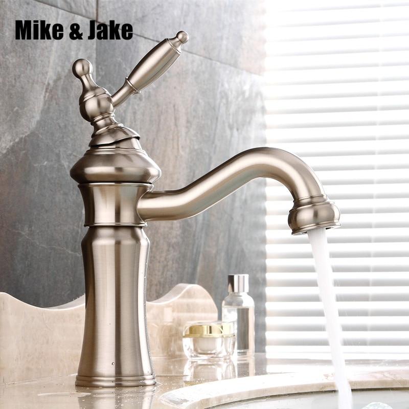 Single handle bathroom faucet brass washbasin faucet bathroom tap water mixer tap sink faucet for bathroom sink tap XY365