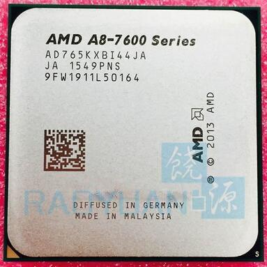 AMD A8-Series A8 7650K A8 7650 A8-7650 AD765KXBI44JA  3.3GHz Quad-Core CPU Processor Socket FM2+