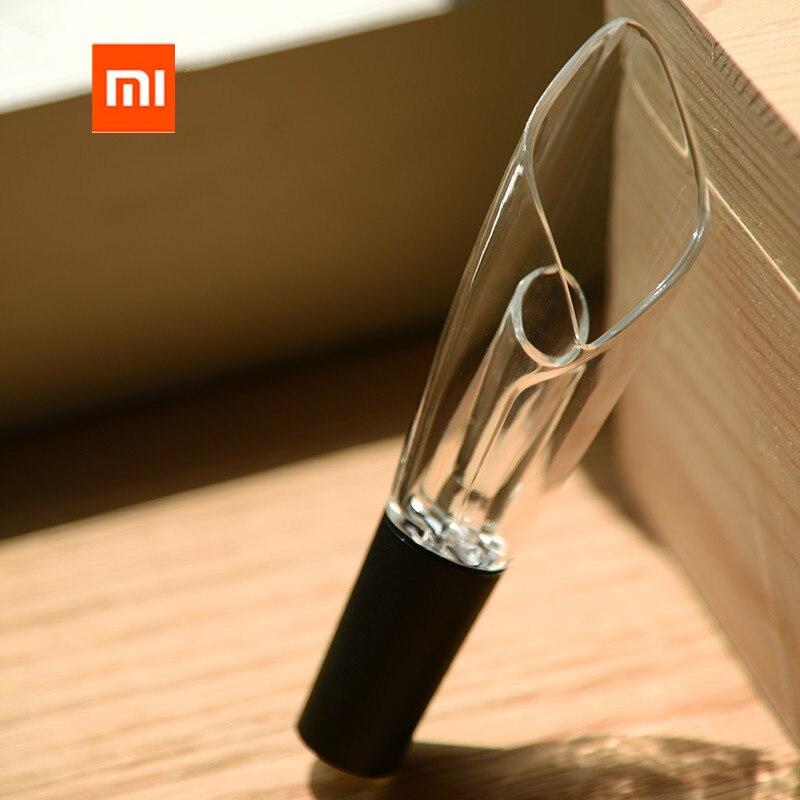 Eerlijk Xiaomi Mijia Rode Wijn Filter Schenker Beluchter Voor Familie Bar Rvs Decanter Mini Draagbare Wijn Luchtinlaat Fles