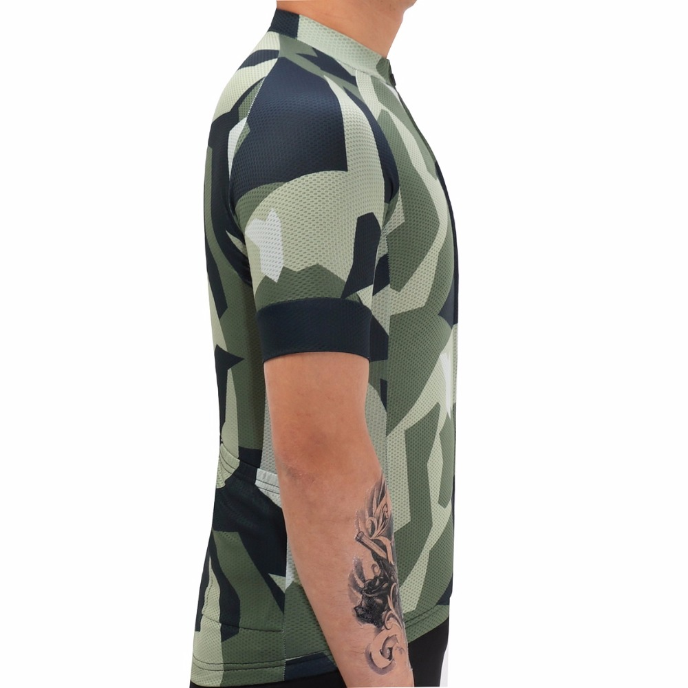 2017 Breathable Bike Cycling Jerseys Sets Lycra Quick Dry Short Sleeve  Clothes Bicycle Ropa Ciclismo  Military style sportswear-in Cycling Sets  from Sports ... 3af39b096