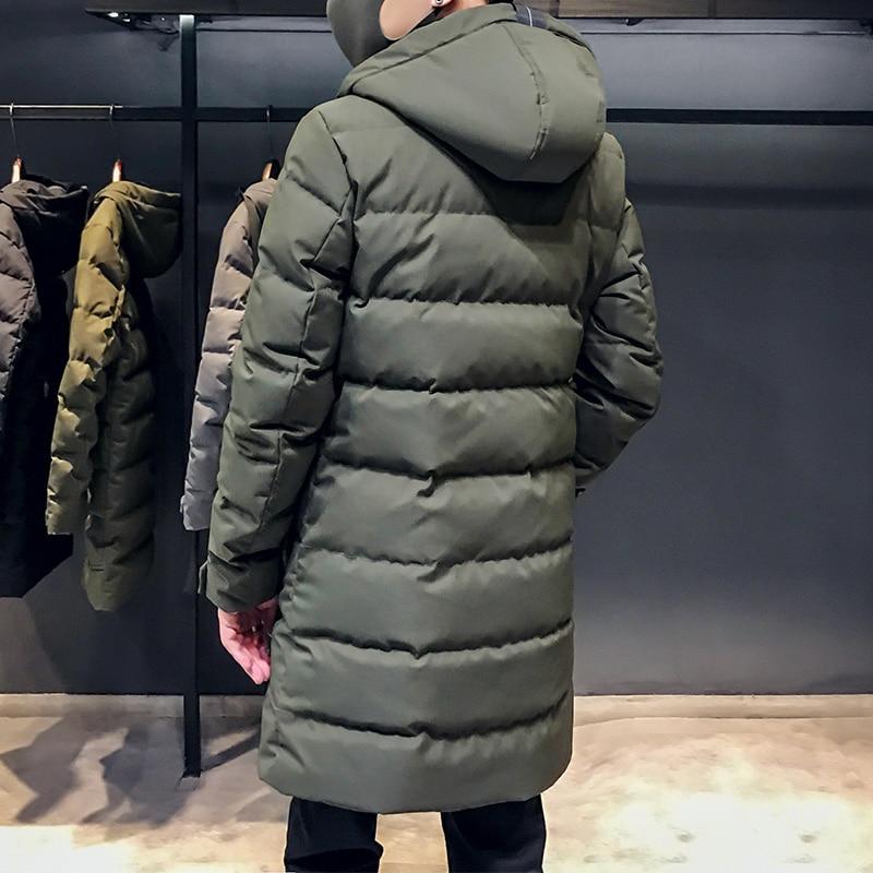 Parkas Green Qualité Hiver 2018 Haute Épaississement Vêtements Longue Coton Mâle Épais Chapeau Hommes Casual Imperméable gray Marque Black En Veste army Manteau Mode B8PWq8