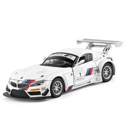 Модель автомобиля игрушки для Benz Z4 сплава модели автомобиля с функцией отступить электронная игрушка с моделирования огни и музыка